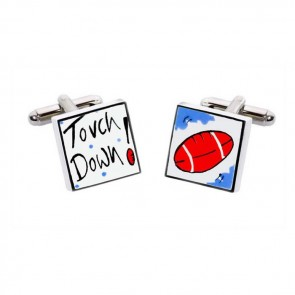 Touch Down Cufflinks