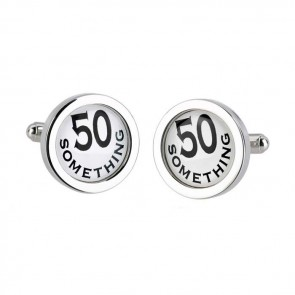 Circular 50 Something Cufflinks