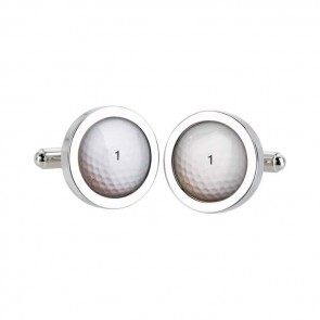 Golf Ball No. 1 Cufflinks