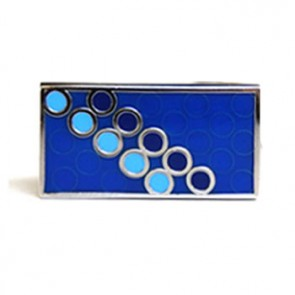 Disco Blue Cufflinks