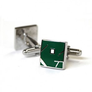 Jazz Green Cufflinks