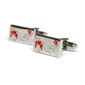 Rose Red Cufflinks