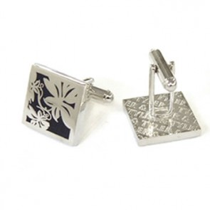Vine Navy Cufflinks