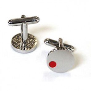 Satellite Red Cufflinks