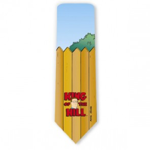 King Of The Hill Logo Necktie