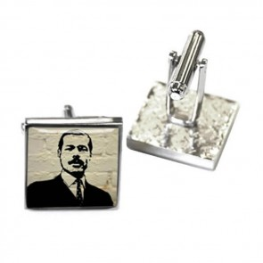 White Brick Style Vanisher Cufflinks