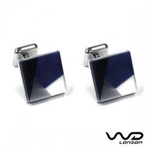 Grey Mosaic Cufflinks