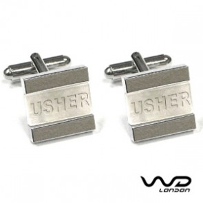 Usher Square Stripe Cufflinks