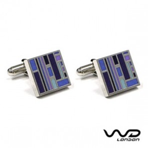 Blue & Purple Jack Cufflinks