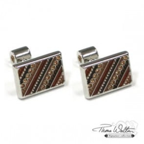 Brown Alexander Cufflinks