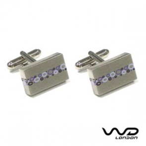 Purple Firm Cufflinks
