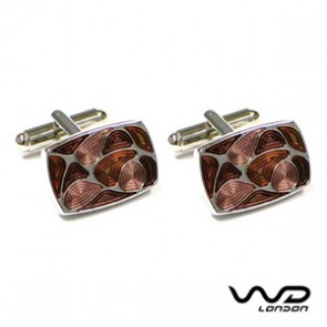 Brown Ashton Cufflinks