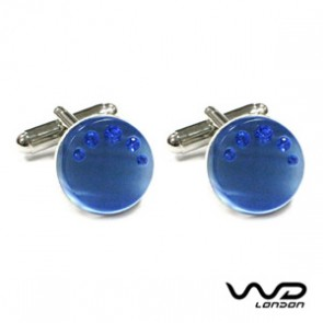 Blue Timothy Cufflinks
