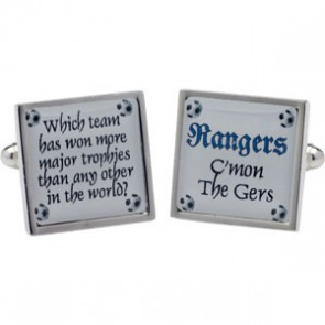 Rangers Football Cufflinks