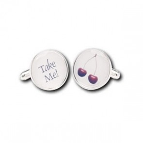 Cherry Take Me Cufflinks