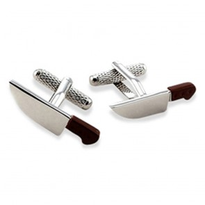 Chef Cleaver Cufflinks