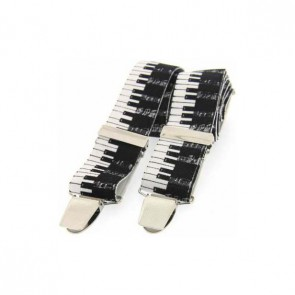 Piano Key Themed Braces
