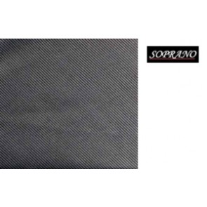 Woven Charcoal Grey Tie In Diagonal Ribbed Luxury Silk