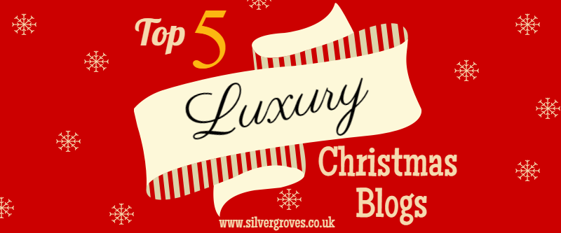 Luxury Christmas Blogs Title