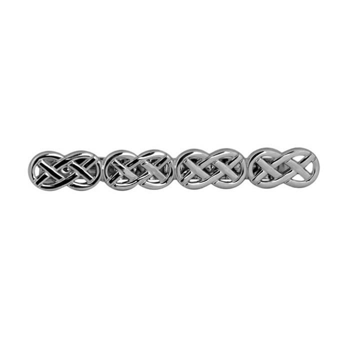 Celtic Pattern Tie Bar