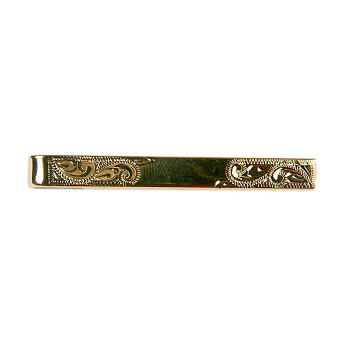 Venetian Style Engraved Effect Tie Bar