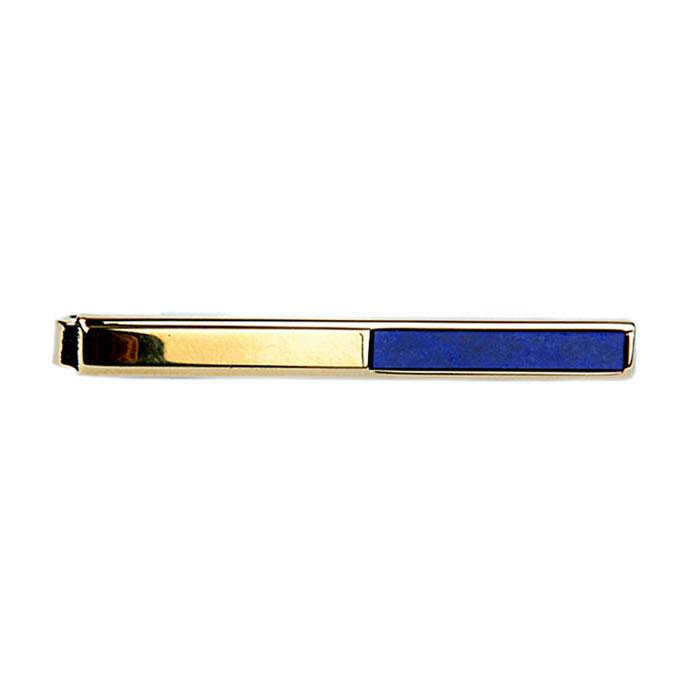Lapis Lazuli Tie Bar