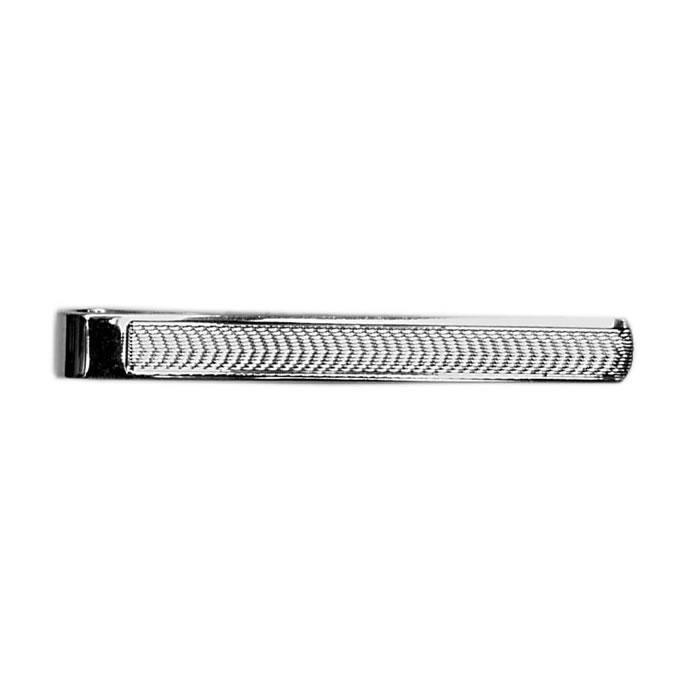 Sterling Silver Simple Barley Tie Bar