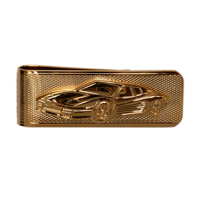 Ferrari On Barley Money Clip