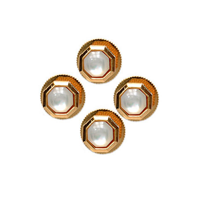 Octagonal Mother Of Pearl Dress Studs Dress Studs