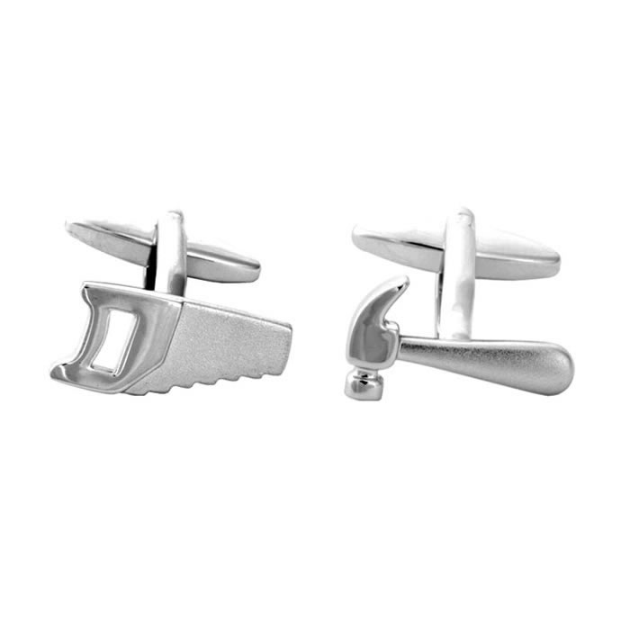 Saw And Hammer Cufflinks