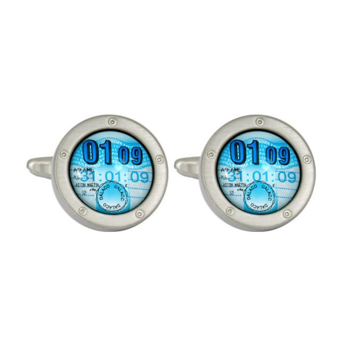 Tax Disc Cufflinks