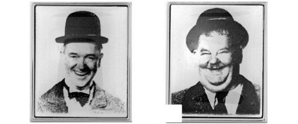 Laurel And Hardy Cufflinks