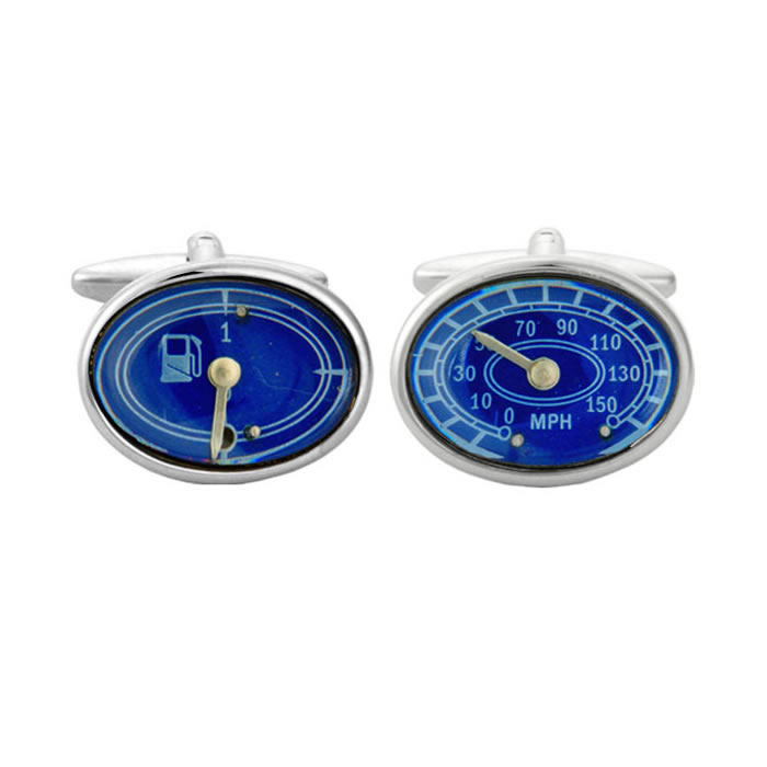 Speedometer And Fuel Gauge Cufflinks