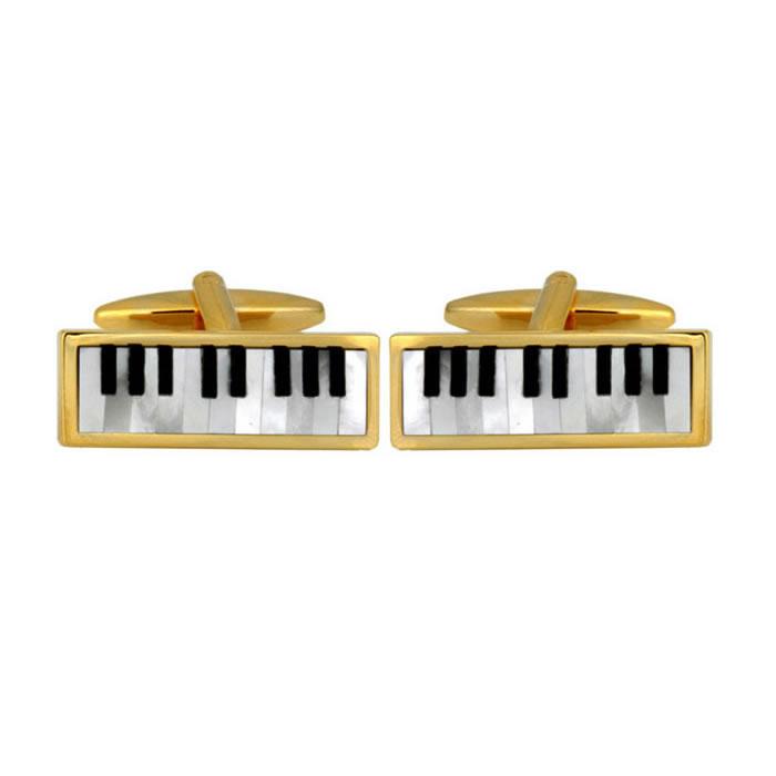 Piano Stone Cufflinks