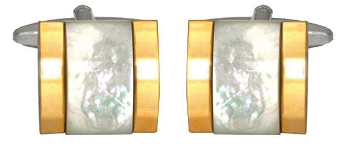 Rectangular Square Set Cufflinks