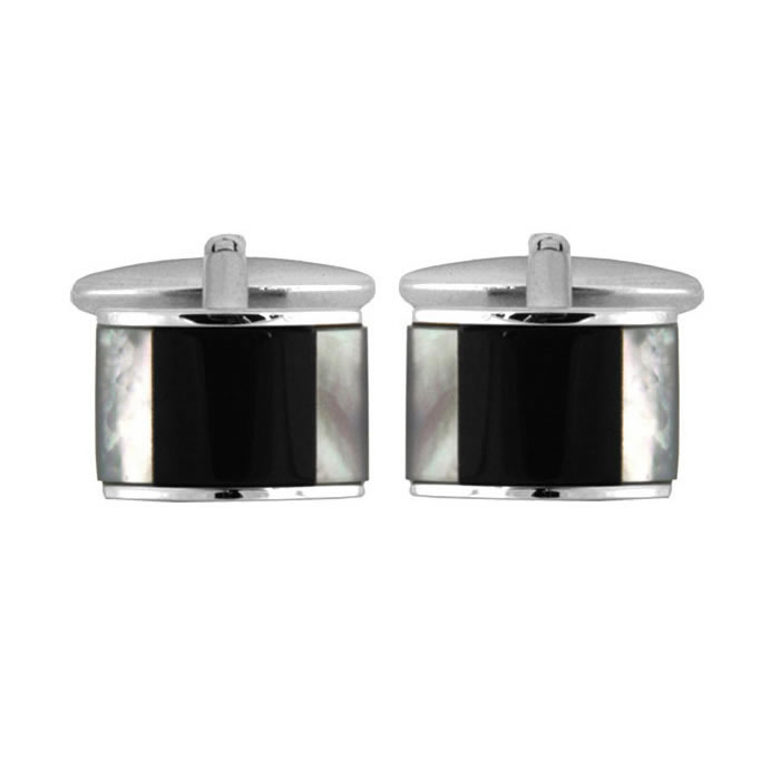 Rectangular Shaped Stone Cufflinks