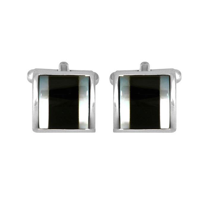 Square Stone Cufflinks