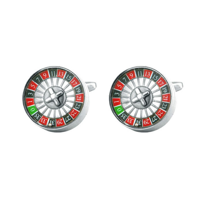 Lucky Roulette Cufflinks