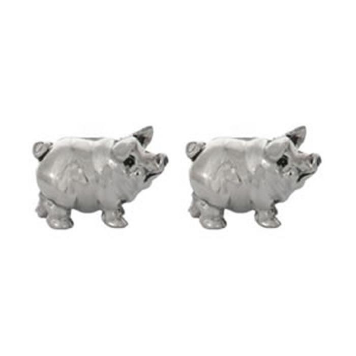 Fat Pig Cufflinks