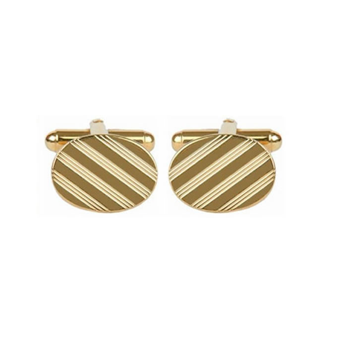 Striped Effect Cufflinks