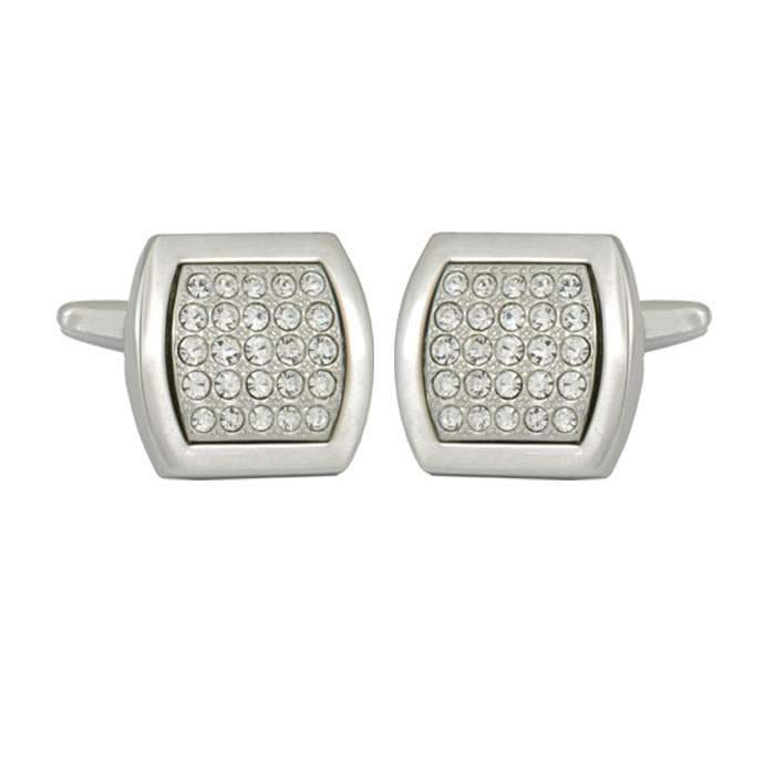 Multiple Crystal Cufflinks