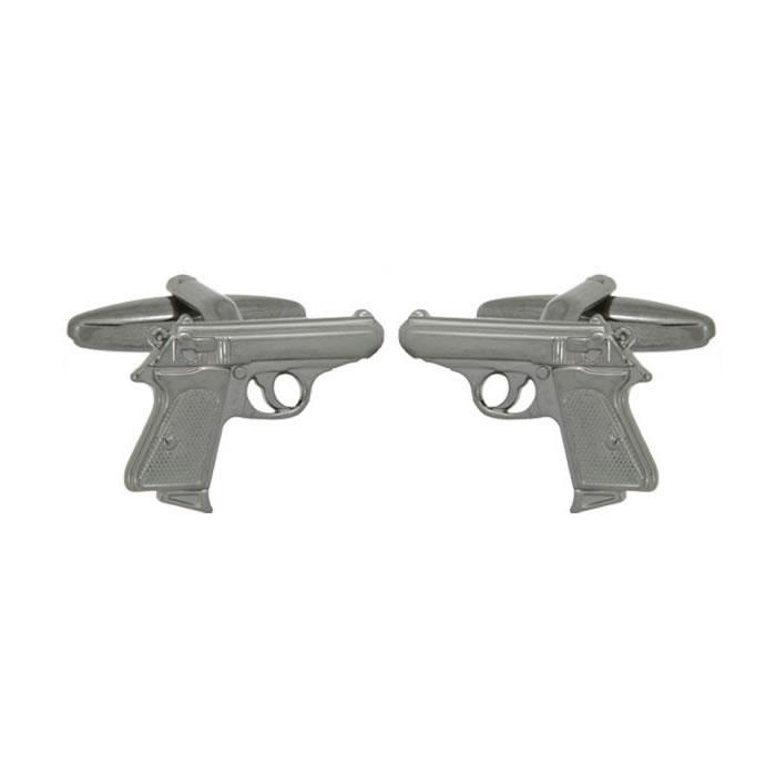 Pistol Simple Cufflinks