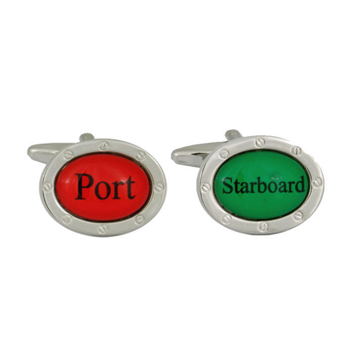 Port And Starboard Style Cufflinks