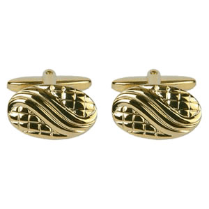 Yellow Sports Car Cufflinks