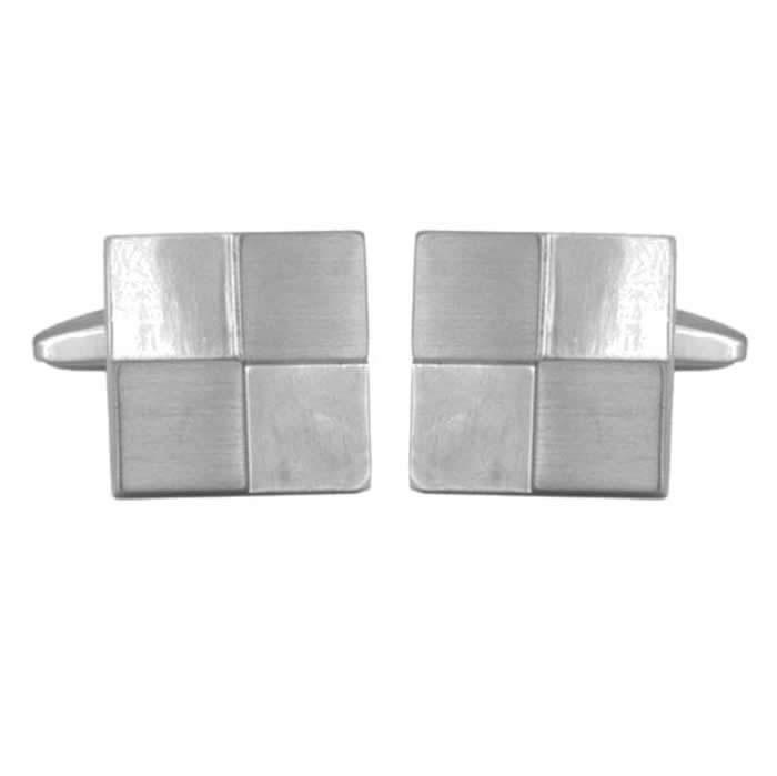 Square Quarters Cufflinks