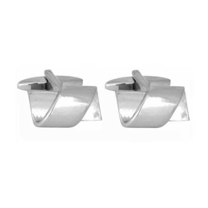 Rectangle Twist Cufflinks
