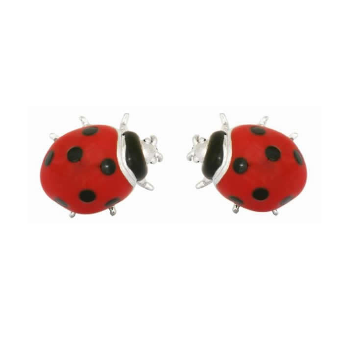 Red Ladybird Cufflinks