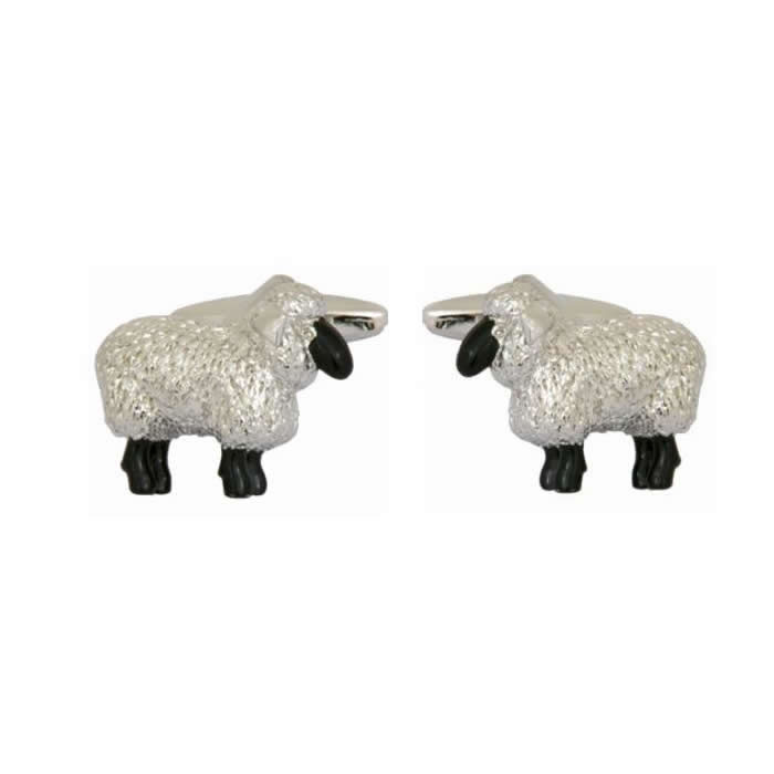 Sheep Detailed Cufflinks