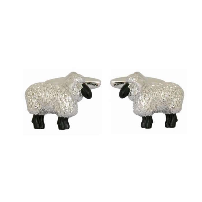 Sheep Detailed Cufflinks