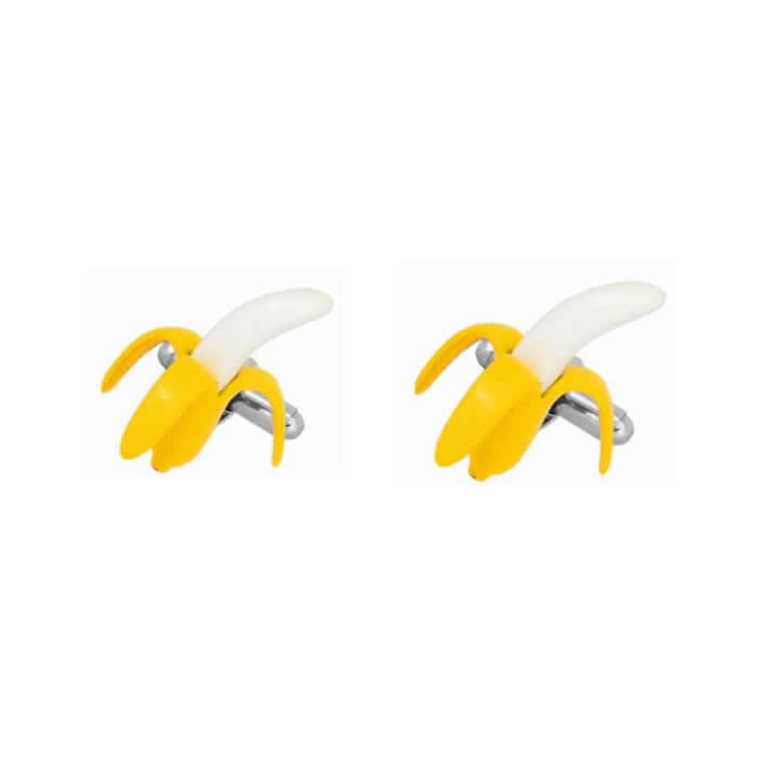 Banana Fruit Cufflinks